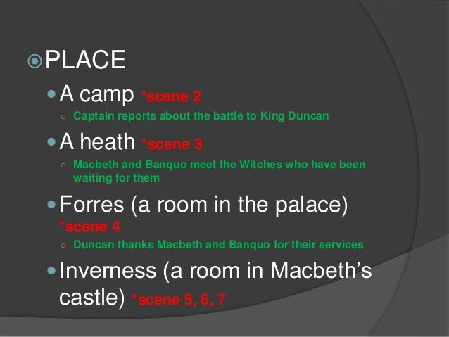 macbeth how the setting of the Macbeth, the thane of glamis, receives a prophecy from a trio of witches that one day he will become king of scotland consumed by ambition and spurred to action by his wife, macbeth murders.