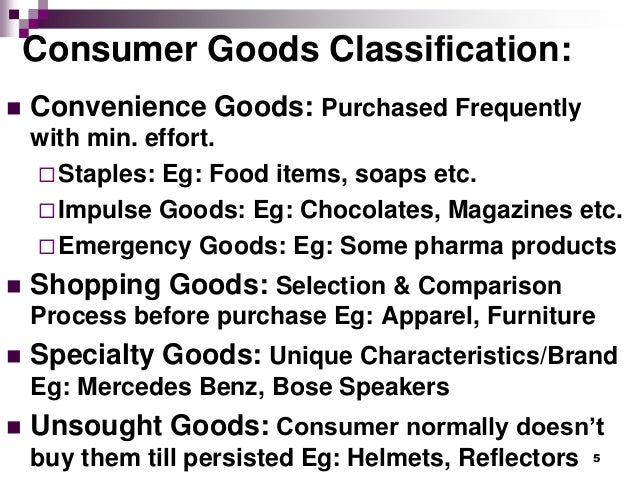 what type of consumer product is terracycle s plant food convenience shopping specialty or unsought  They can be categorized as convenience consumer goods, speciality consumer goods, shopping consumer goods and unsought consumer goods convenience consumer goods are general goods are regularly used and easily available goods.