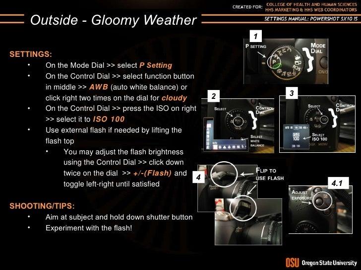 canon powershot sx10 is settings manual rh slideshare net canon powershot sx10 is manual flash canon powershot sx10is manual focus
