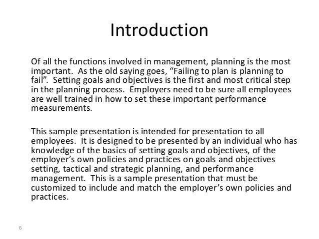 Critical analysis of goal setting theory and management by objectives