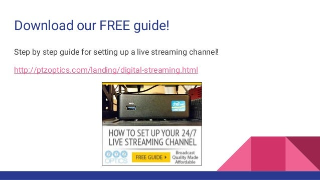 Setting up a 24/7 streaming box for YouTube Live