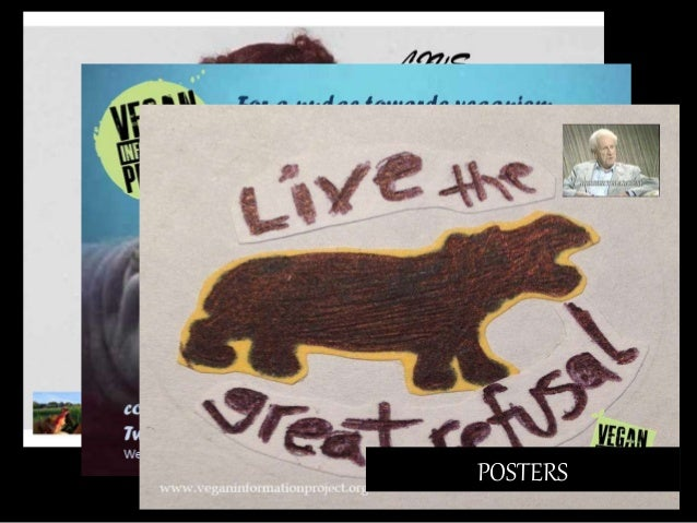 Display board, featuring The Case for Animal Rights by Tom Regan