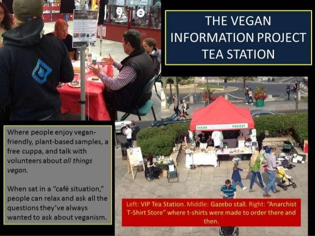 Setting up and Running a Vegan Gazebo Stall