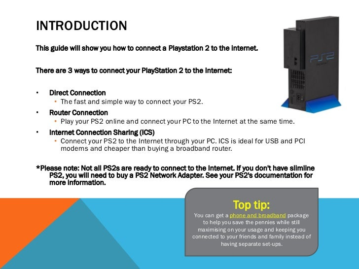 how to connect psn to internet