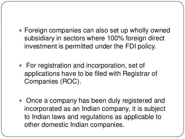 setting up a business in india Once a company is incorporated, there are other steps required before starting a  business in india, includes post incorporation steps required to establish a.