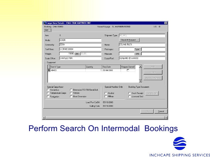 Setting Up Centralized Intermodal Iss Case Study