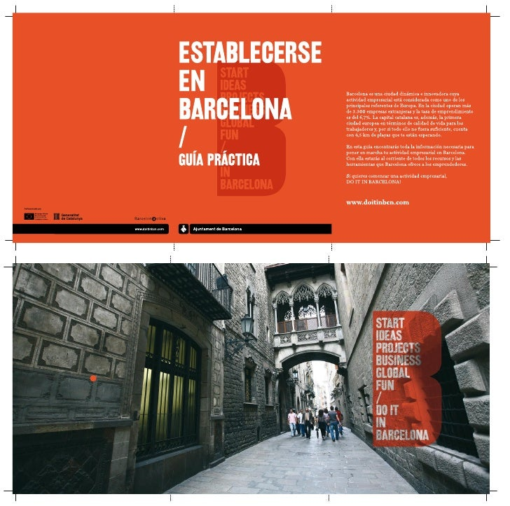 GUÍAPRÁCTICAPARA CREARUNA EMPRESAEN BARCELONA/Encontrarás más información en el CD que se facilita junto con esta guía.