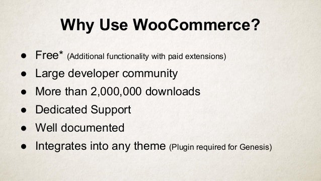 Setting up shop with WooCommerce Slide 2