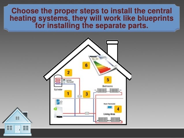 Setting Up The Central Heating Installation System