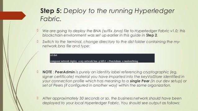 Setting up the hyperledger composer in ubuntu