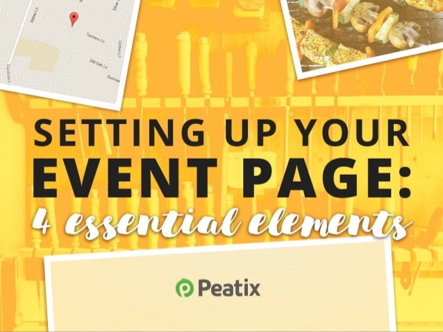 Setting up your event page on Peatix: 4 essential elements