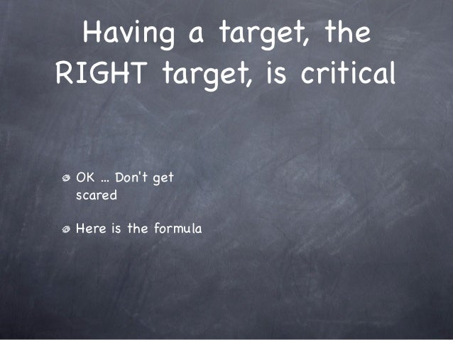 Setting your target on next year's sales quota Slide 3