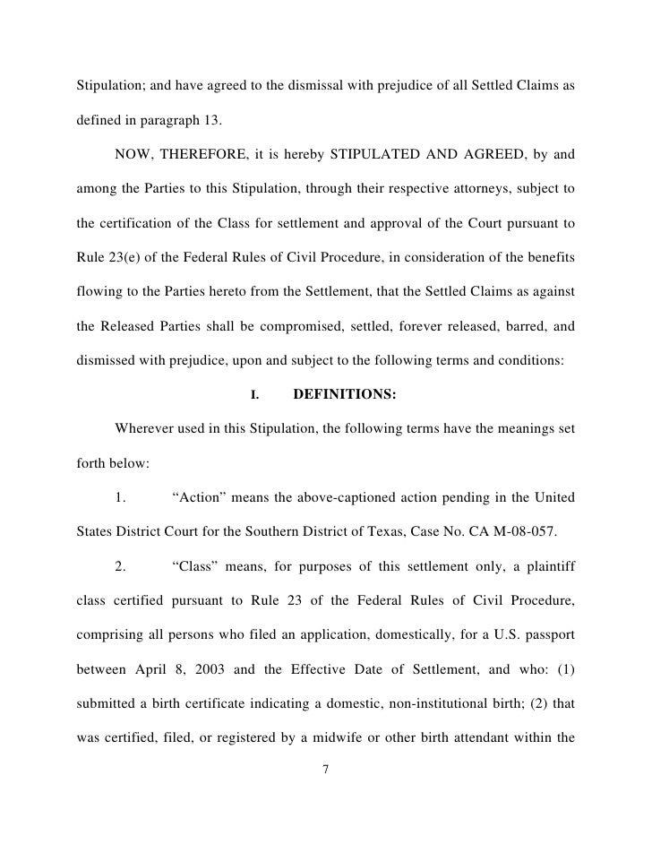 Settlement agreement dos 7 platinumwayz