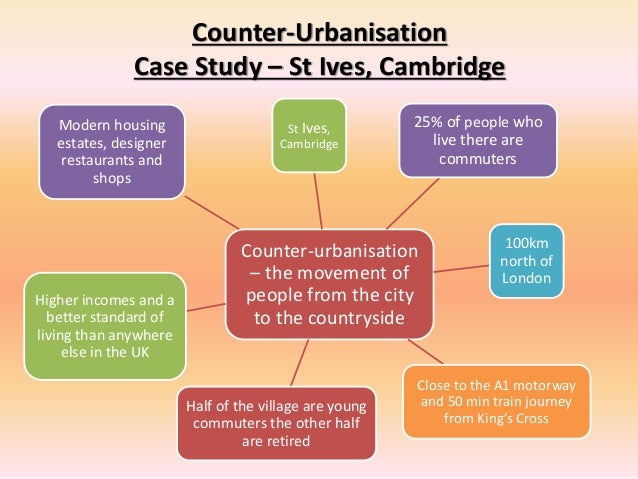 counterurbanisation case study gcse