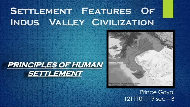 important features of indus valley civilization