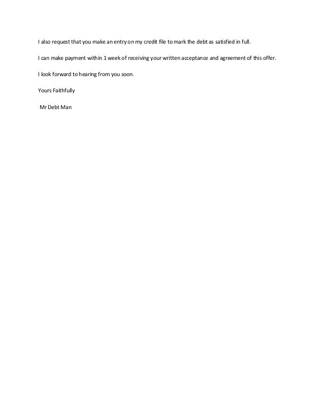 Full And Final Settlement Of Employee Letter Format >> Settlement Letter Format