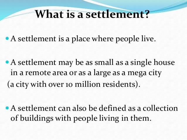 Settlement yr 7 2