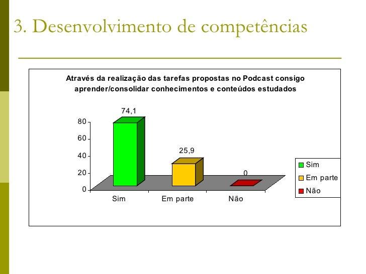 3. Desenvolvimento de competências