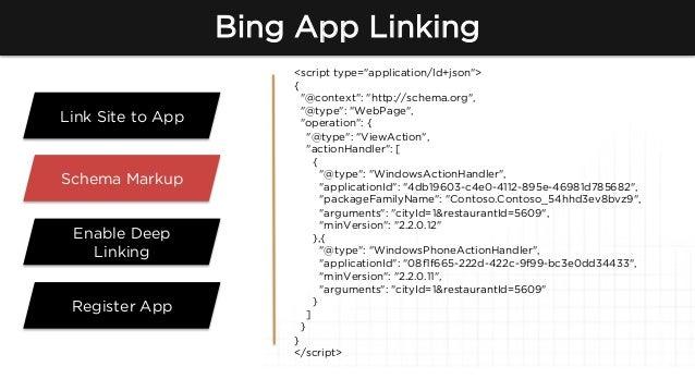 how to setup app indexation