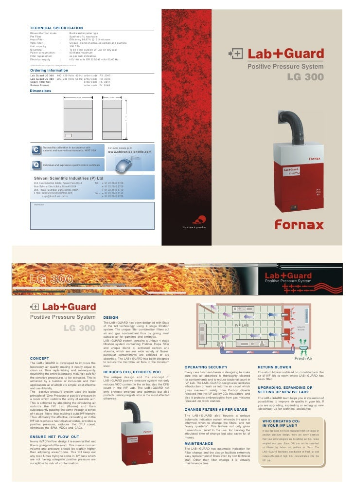 TECHNICAL SPECIFICATION Blower-German make            :        Backward impeller type Pre Filter                    :     ...