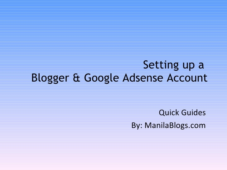 how to delete adsense account on blogger