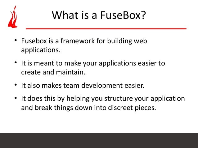 setup coldfusion application using fusebox mvc architecture rh slideshare net what is fuse box in hitman sniper what is fuse box in hitman sniper