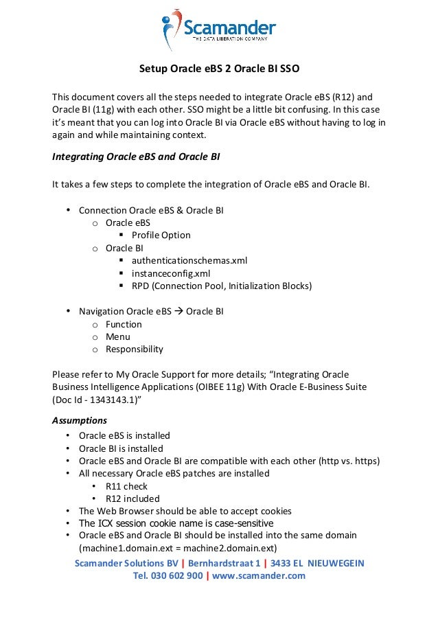 Scamander  Solutions  BV  |  Bernhardstraat  1  |  3433  EL    NIEUWEGEIN   Tel.  030  602  ...
