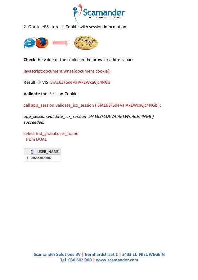 Setup Oracle eBS 2 Oracle BI SSO Slide 3