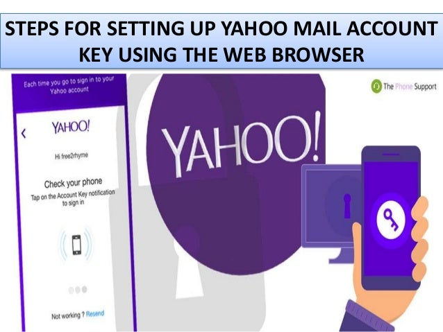 sign in to yahoo mail without account key