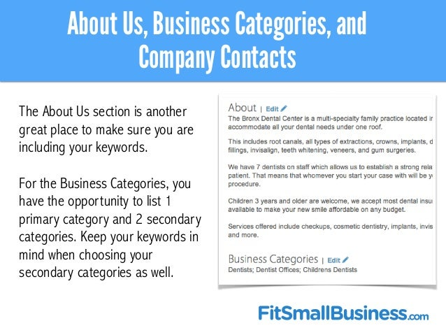 Great Product And Service Showcase Pages; 23. For How To Make Business Profile