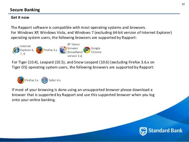 Standard Bank security centre content update for October 2015