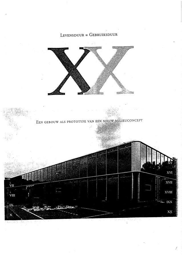 2019 - Booosting - 20 jaar Project XX - Levensduur = Gebruiksduur