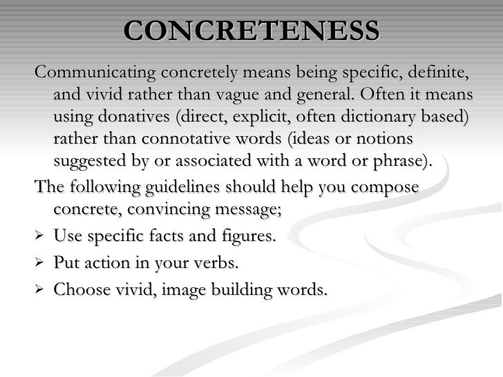 characteristics of effective business communication pdf
