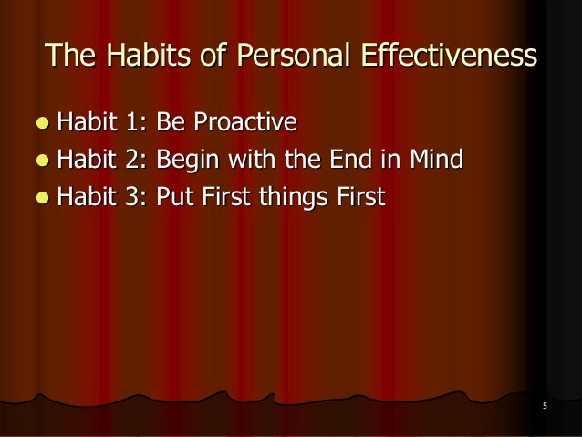 seven habits of highly effective pdf
