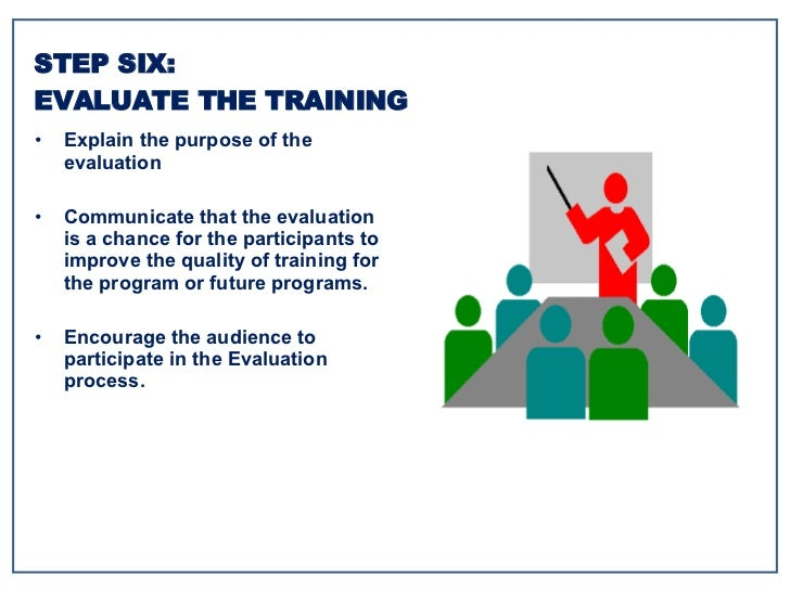 <ul><li>Explain the purpose of the evaluation </li></ul><ul><li>Communicate that the evaluation is a chance for the partic...