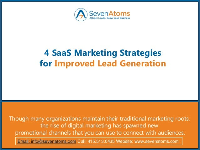 Strategies for improved revenue generation in