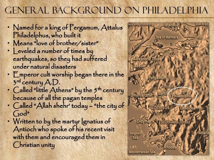 Seven churches - Philadelphia