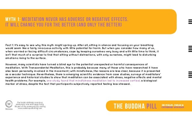 Seven Common Myths about Meditation (The Buddha Pill) Slide 3