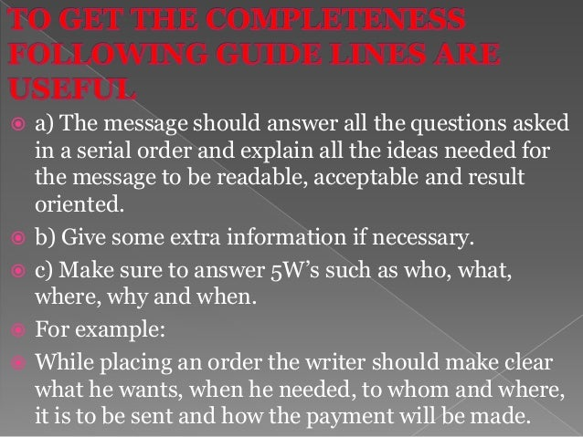 It is the opposite of abstractness. In business the writing should be specific, definite and clear.  Concreteness in wri...