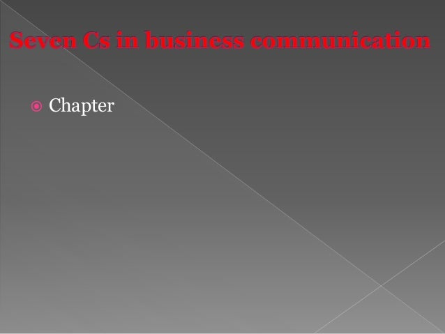 Written communication is the most widely practiced form in the business world. Various types of letters, memos, and repor...