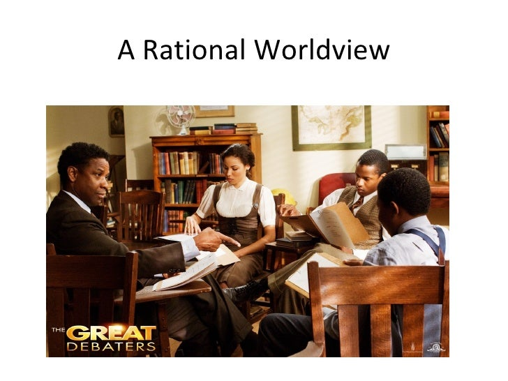A Rational Worldview