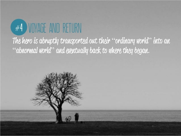"""#4 VOYAGE AND RETURN                          """"   """"""""                     """"       .Image By Fred Matos"""