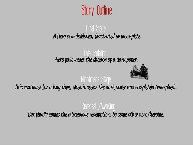 Story Outline      Initial Stage          ,                    .     Total Isolation                           .    Nightm...