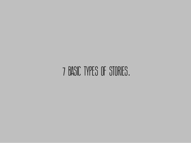 7 BASIC TYPES OF STORIES.