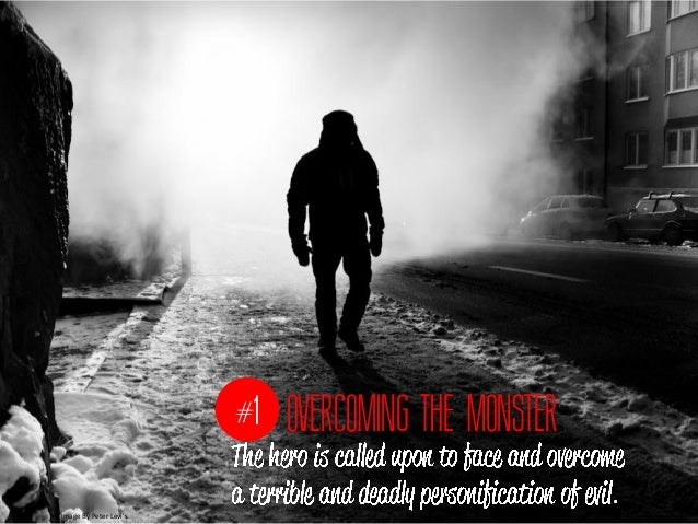 #1 OVERCOMING THE MONSTERImage By Peter Levis                                                    .