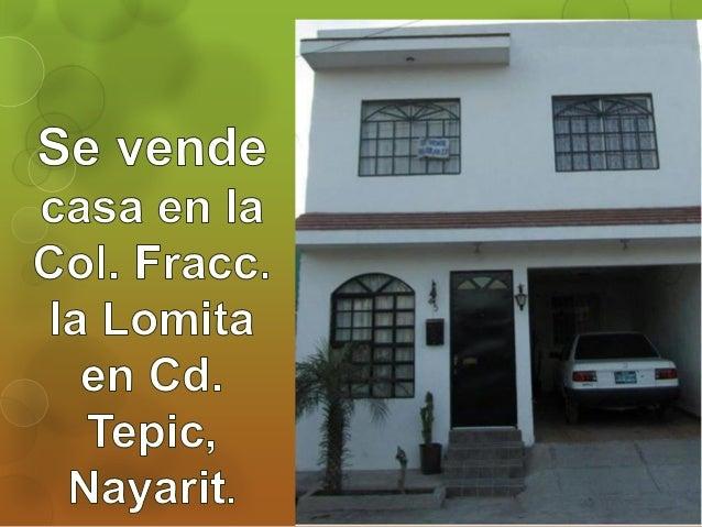 Se vende casa en fracc la lomita tepic nayarit - Se vende casa mallorca ...
