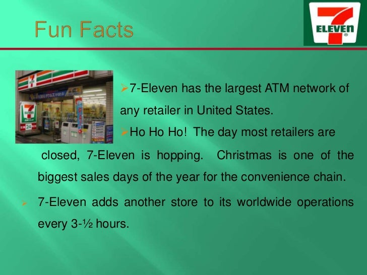 7 eleven japan supply chain case This case strategies of 7-eleven stores focus on 7-eleven was the largest global convenience retailer chain with revenues of $10,7847 million 7-eleven operated, franchised and licensed around 25,000 stores and served around 7 billion customers daily, 24 hours, seven days a week in 17 countries.