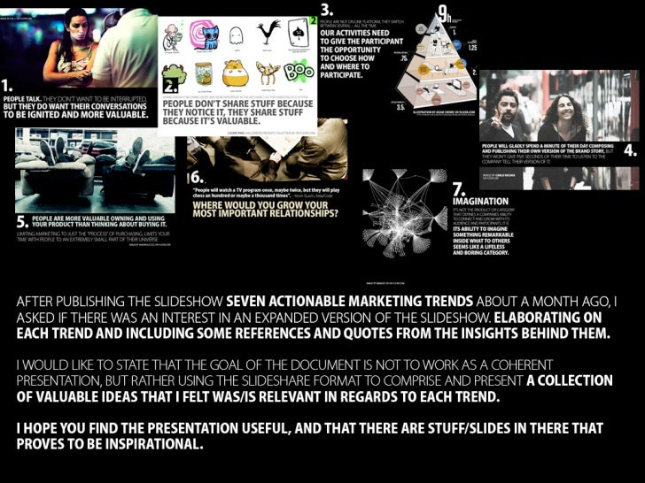 Expanded Version - Seven Actionable Marketing Trends Slide 2