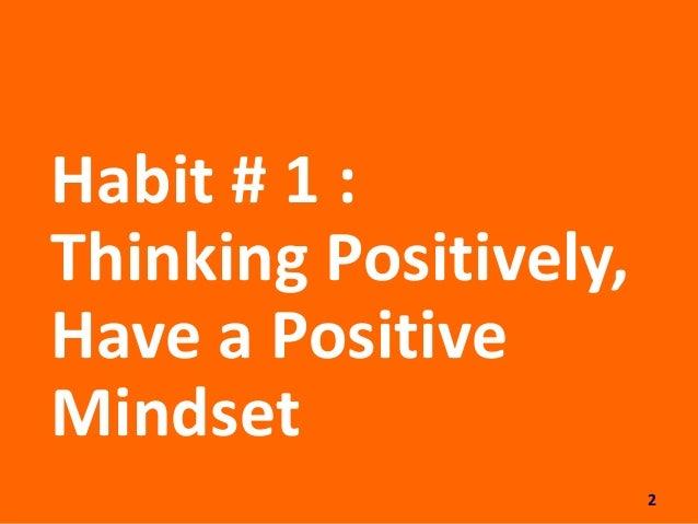 7 Kebiasaan Baik Orang Orang Produktif Slide 2