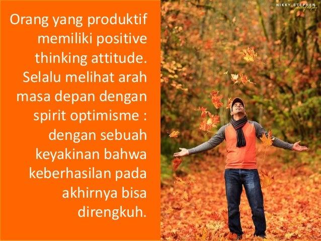 7 Kebiasaan Baik Orang Orang Produktif Slide 3